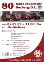 80 Jahre Feuerwehr Boxberg/O.L.